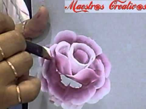 Rose and leaves tuto