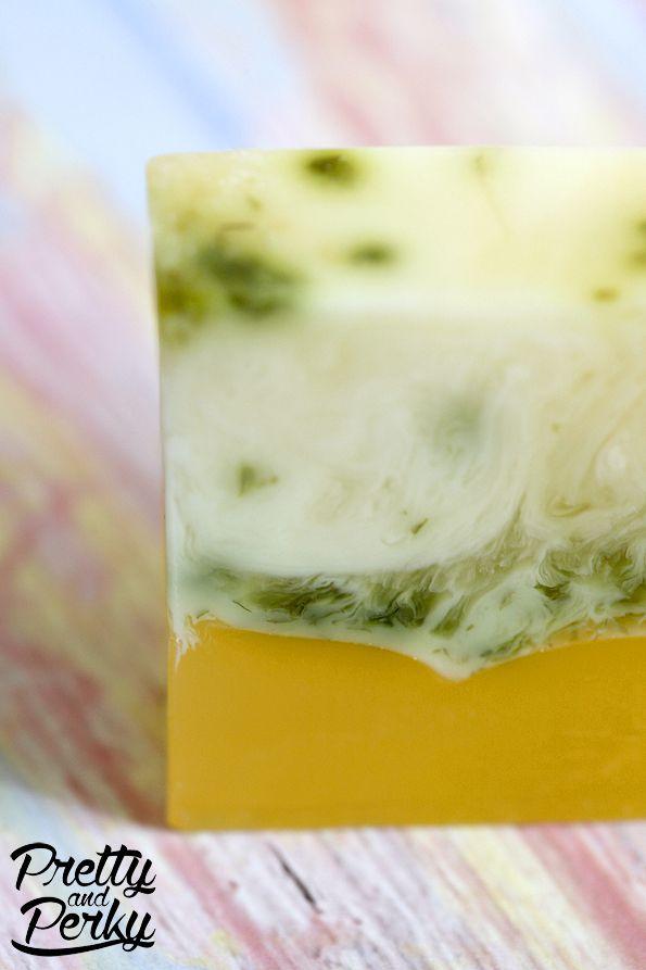 Meyer Lemon & Herbs Honey Glycerin Soap  #Meyer #lemon #herbs #honey #glycerin #soap #handmade #loaf