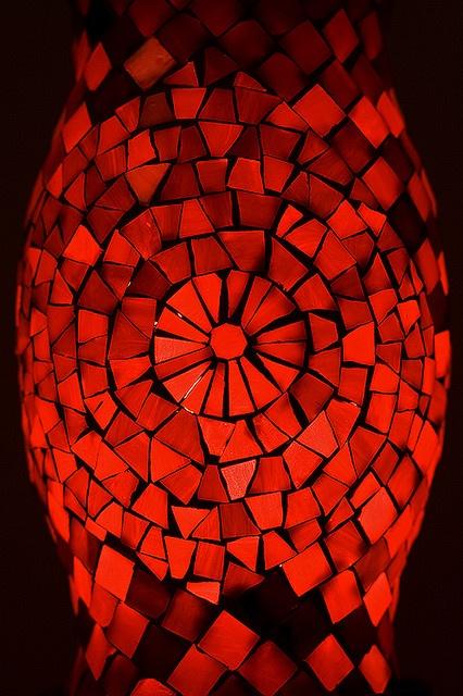 Vetro rosso [red glass]
