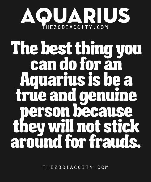 Best Thing You Can Do For Aquarius | TheZodiacCity  See more zodiac facts here | ZodiacCity Shop