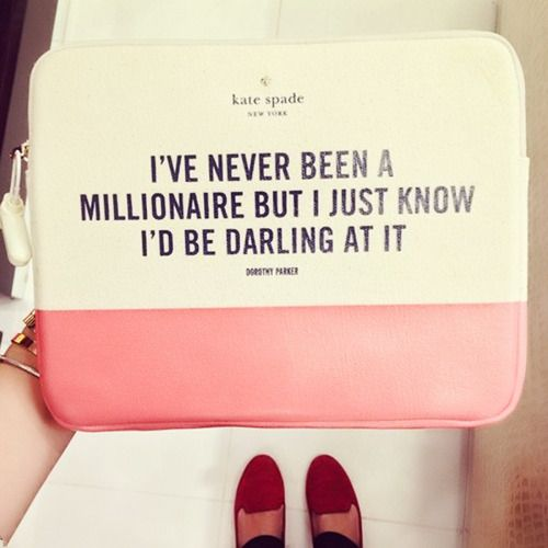 Kate spade and holly golightly...this is too good