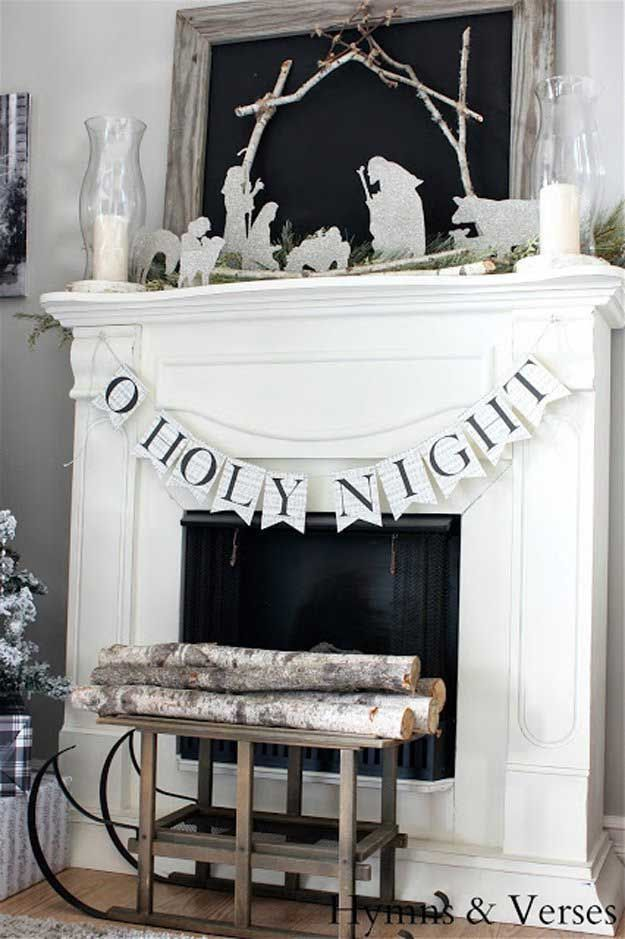 Check out Our 20 Favorite Mantel Decorating Ideas | Christmas Mantel Decor at http://diyready.com/our-20-favorite-mantel-decorating-ideas-christmas-mantel-decor/