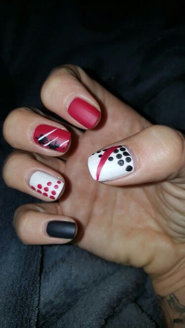 Trash Polka Nails