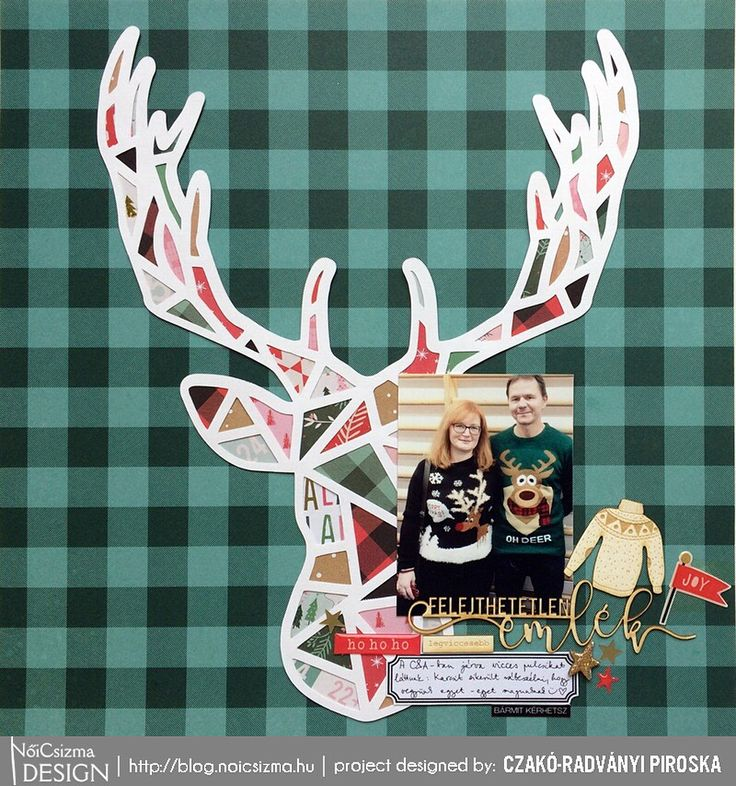 Let's say good bye to the winter with these ugly sweaters  #noicsizmadesign #dt #layout #chipboard #scrap #scrapbook #scrapbooking…