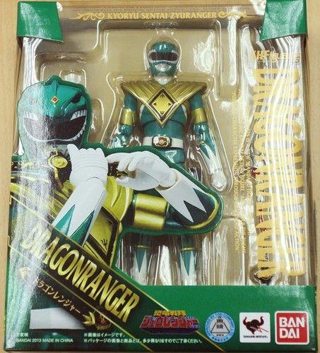 Bandai s H Figuarts Kyoryu Sentai Zyuranger Dragon Green Power Ranger Figure | eBay - Delancey Pants, get the Japanese version and not the stinky American version!
