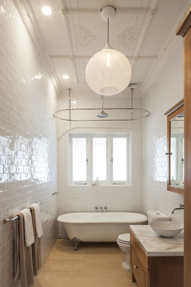 Lennox Street House By Corben Architects This 1920s Single Storey Bungalow Was Completely Redesigned By Edwardian Bathroom1920s