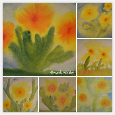 painting wet in wet, gr 3.