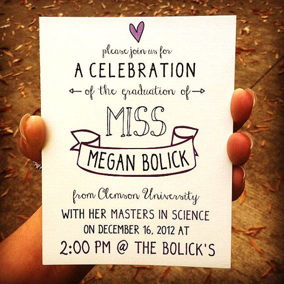 1000+ ideas about Graduation Invitations College on ...