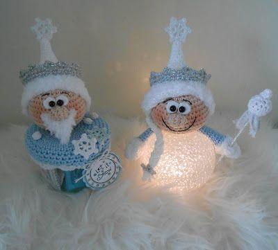 Winter Wonderland (Bizzy Bee Class) – haken – winter /  crochet – winter