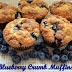 Flavors by Four: Blueberry Crumb Muffins