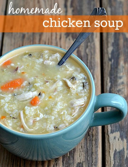 Homemade Chicken Soup Recipe | Real Food Real Deals #healthy #recipe #healthyeatingparty
