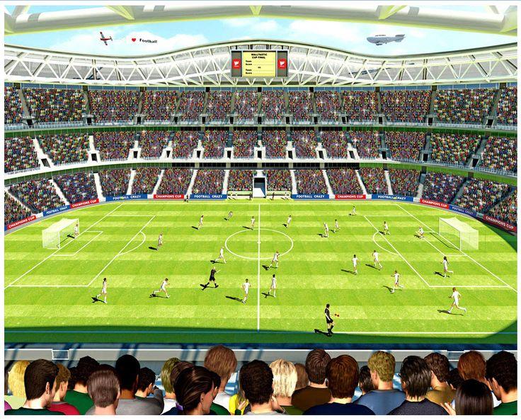 voetbal-kamer walltastic