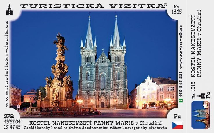 CZ-1315 - Kostel Nanebevzetí Panny Marie v Chrudimi
