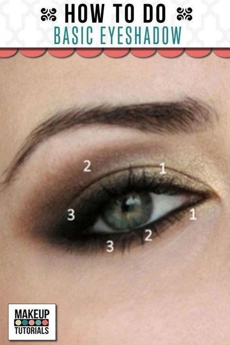 Best 25+ Simple Eyeshadow Tutorial Ideas On Pinterest