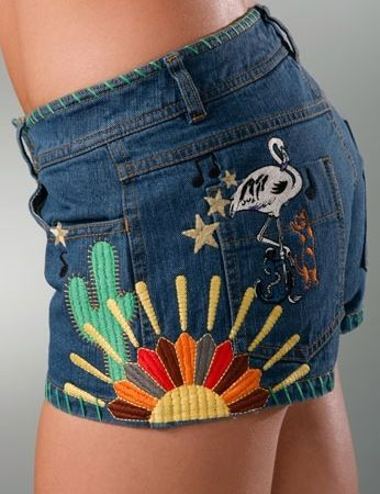 See by Chloe Embroidered Denim Short: Love It or Hate It? | POPSUGAR Fashion