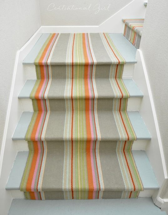 63 best images about Stair Runner Installations on Pinterest : Wool, Hallways and Stairs