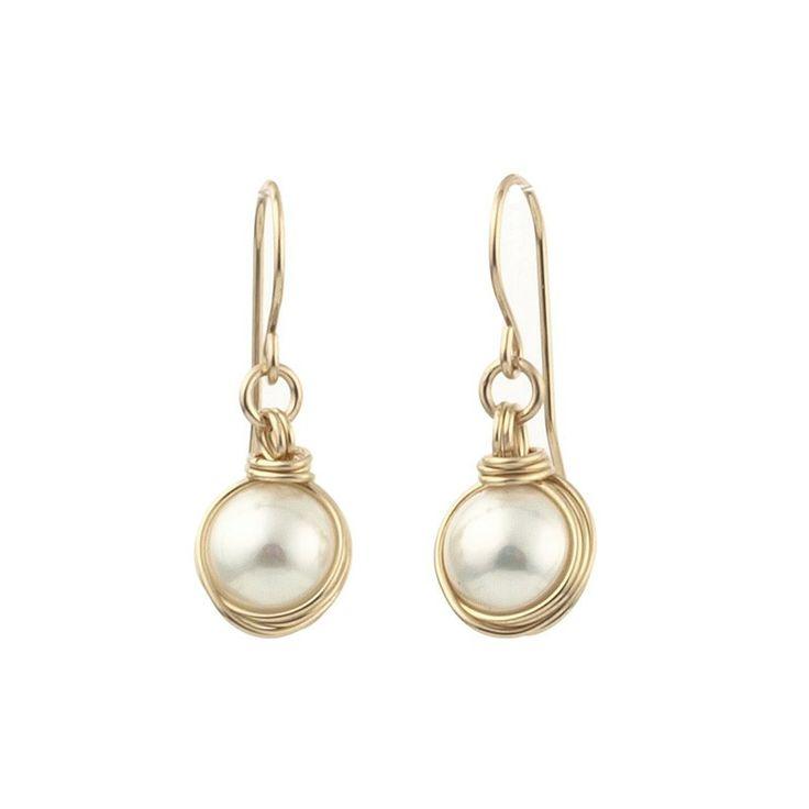 326 best Wire wrapped earrings images on Pinterest | Wire earrings ...