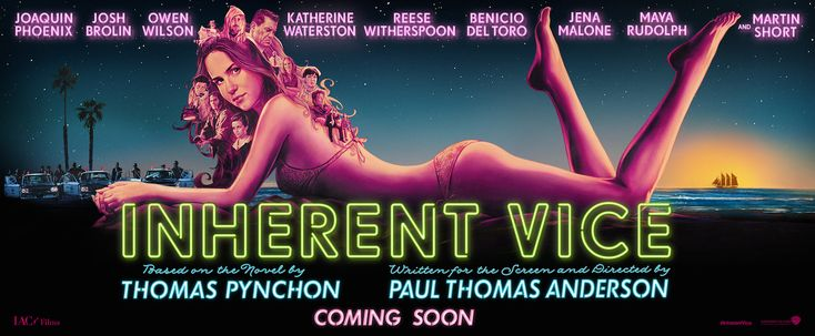 New Media Promotion PT Anderson's Inherent Vice Film - Pynchon
