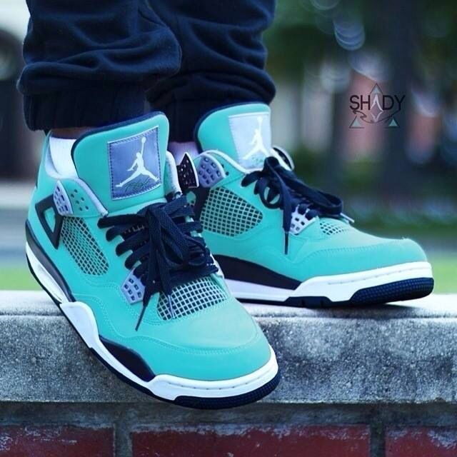 Buy Nike Jordan 4 Cheap sale Aqua Custom