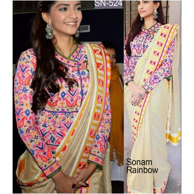Buy STYLISH BOLLYWOOD SAREE SN 524 by undefined, on Paytm, Price: Rs.2700?utm_medium=pintrest