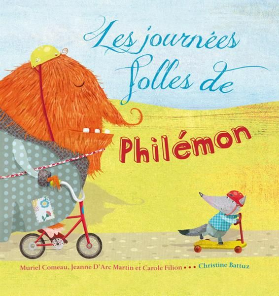 Les journées folles de Philémon, livre jeunesse, album illustré, papa.