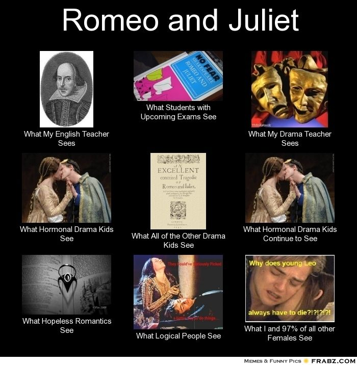 67a3ded15379484f2c374dae7bfe711a death scene romeo and juliet 8 best romeo and juliet memes images on pinterest ha ha, funny