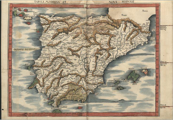 "C.A. 152 V. - 0233 - Ptolomeu (ca 90-ca168) – ""Claudii Ptolemaei viri Alexandrini Mathematicae…"".   Argentinen : Joannis Schotti, 1513. BNP C.A. 152 V."