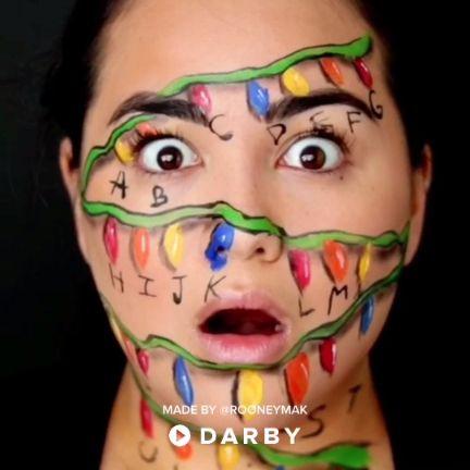 stranger things halloween makeup tutorial darbysmart