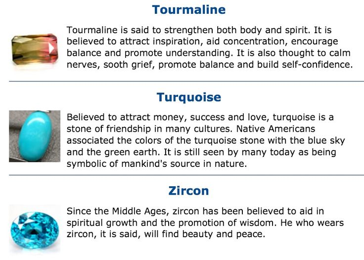 # tourmaline # Turquoise #Zircon # gemstone meaning ...