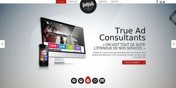 De bons exemples de site très design qui ont été retenues pour la tendance août 2013