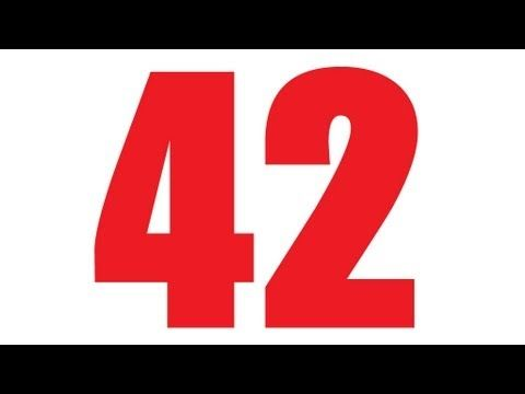 Great video for Math nerds or Douglas Adams fans. Happy Belated birthday Douglas Adams. -  The greater meaning of 42. - Numberphile