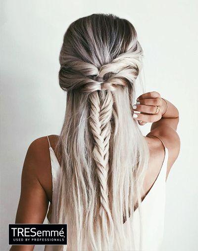 look trenza braid inspiration tresemmper - Trenzas Pelo Largo