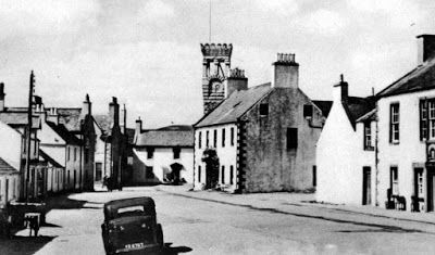 Tour Scotland Photographs: Old Photograph Ann Street Gatehouse Of Fleet Scotland