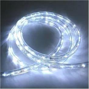 mangueira led luminosa alto brilho branco 10metros com fonte