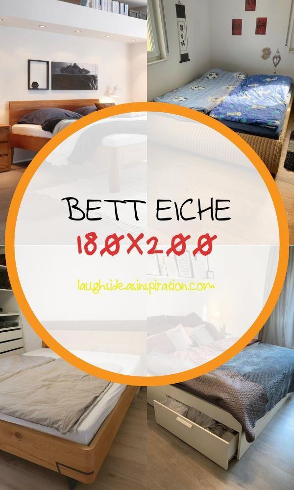 16 Luxus Bett Eiche 180x200 In 2020 Bett Eiche Eiche Wohnwand Weiss Eiche