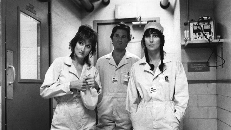 "Meryl Streep, Kurt Russell, Cher in ""Silkwood"" (1983)"