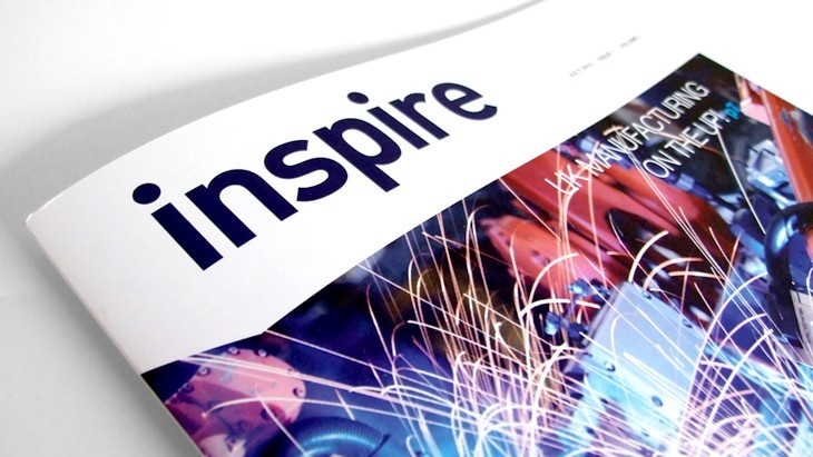 Inspire magazine by POP - www.pop-branding.com