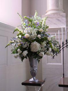 Flower Arrangements on Pinterest | Church Flowers, Altar Flowers ...