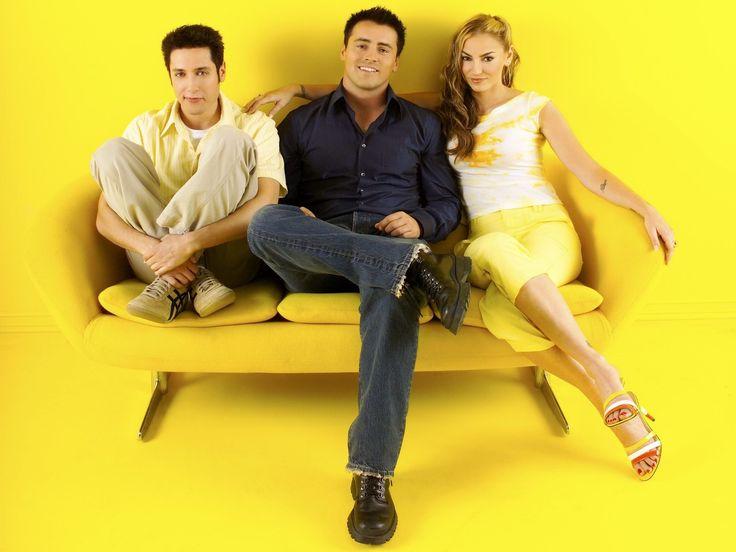 """""""Joey"""" (2004–2006) Creators: Shana Goldberg-Meehan, Scott Silveri Stars: Matt LeBlanc, Andrea Anders, Paulo Costanzo"""