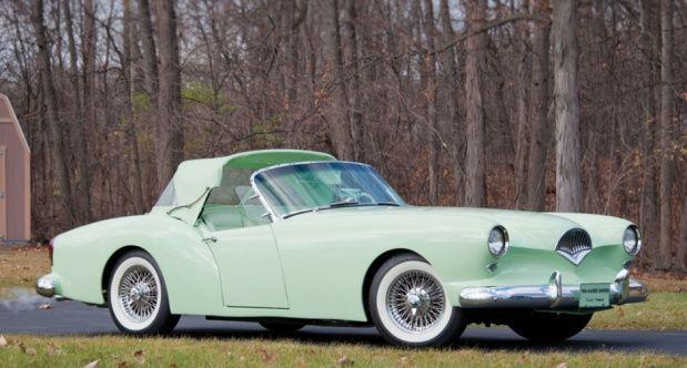 1954 Kaiser Darrin Roadster...all fiberglass with sliding doors..