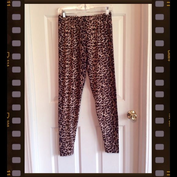 🚨FINAL MARKDOWN🚨 Cheetah Leggings NEW WITHOUT TAGS. FITS 1X-3X. Boutique  Pants Leggings