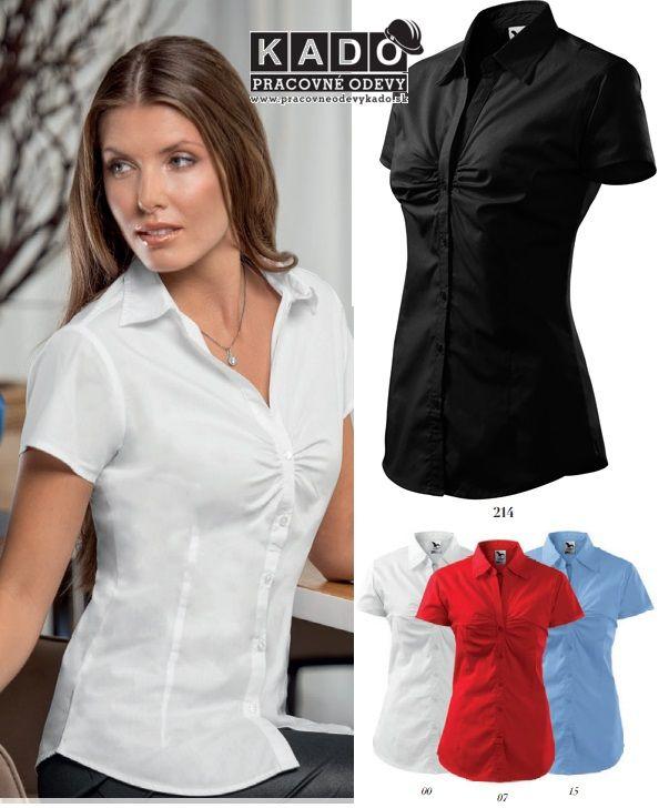 Pracovné odevy - 214 Blúzka dámska Chic viac farieb