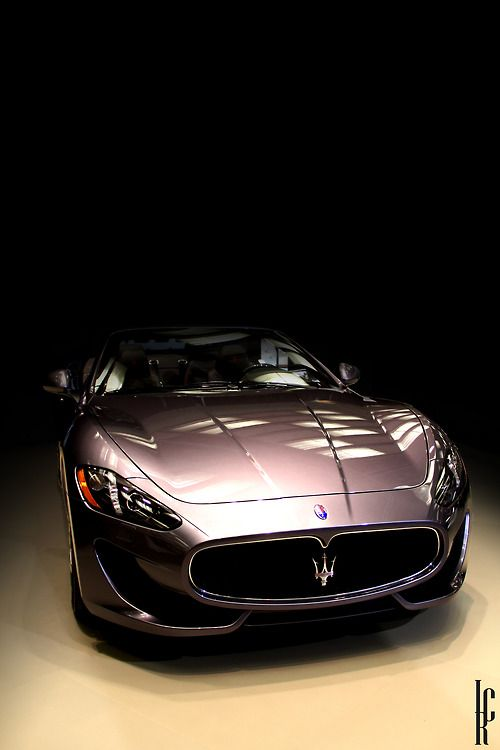 Maserati in the shadows