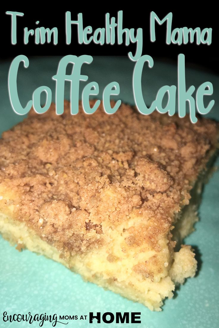 Looking for a delicious coffee cake recipe that follows the Trim Healthy Mama plan? This recipe is sure to please, even for the picky eater.