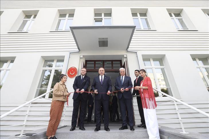 افتتاح مبنى السفارة التركية الجديد في وارسو
