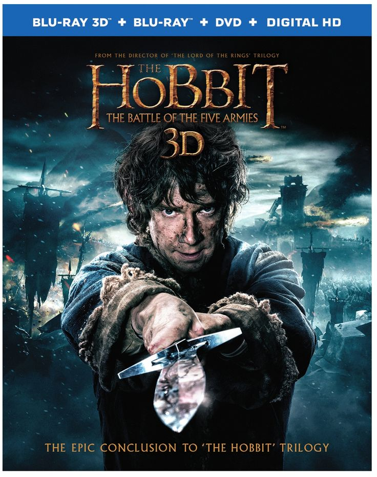 Peter Jackson takes cues from the appendices of THE LORD OF THE RINGS to expand New Line Cinema's Hobbit adaptation with this third film completing the epic tale of Bilbo Baggins, as played by Martin