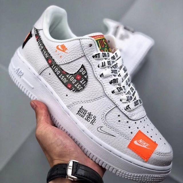 Af1 Just Do It Precio 129 99 Disponibles En Tienda Envios A Todo El Salvador Y Af1 Just Do It Pr Nike White Shoes Sneakers Nike Air Force Sneaker