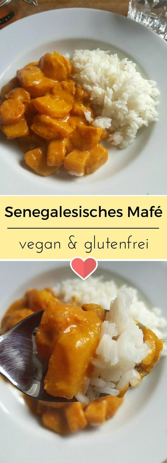 Regionales Gemüse trifft auf Erdnussmus und lässt es krachen. Das perfekte Gerichte für einen stressigen Tag. #vegan #senegal #mafe #senegalesisch #glutenfrei #glutenfree #erdnuss #veganfood #rezept