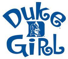 Duke University Blue Devils GIRL