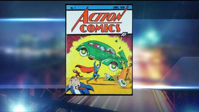First Superman Comicbook Sells for $3.2 Million   Variety
